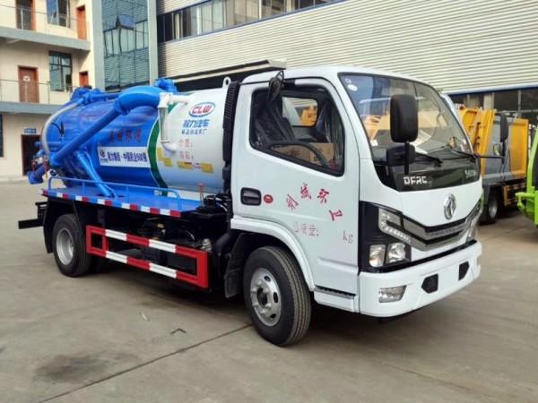 小型国六东风小多利卡吸污车,容积3.5-4.5方图片