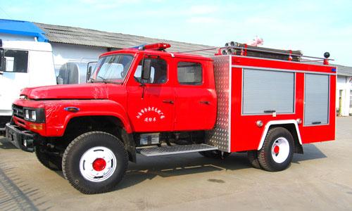 东风140水罐消防车