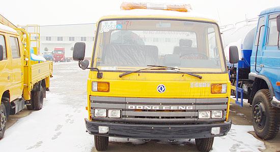 黄色单排清障车