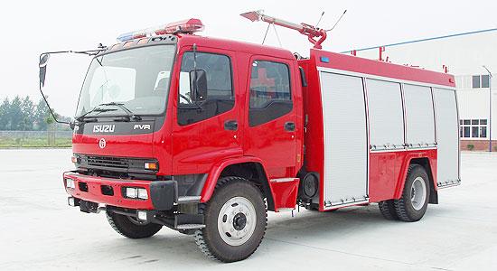 庆铃泡沫消防车